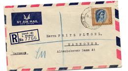 Carta Certificada De Rhodesia. 1957. - Rodesia & Nyasaland (1954-1963)