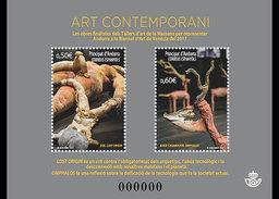 Andorra - Postfris / MNH - Sheet Contemporary Art 2017