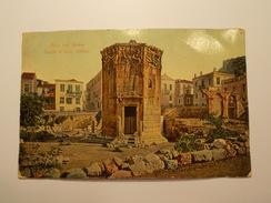 Carte Postale -  GRECE - ATHENES - Le Temple D'Eole 1921 (37) - Grèce