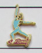 1 Pin's Surya Bonaly Signé STARPIN'S - Patinaje Artístico