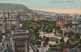 Montreal - Dominion  Square  - Scan Recto-verso - Montreal
