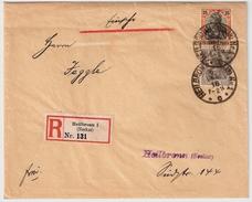 1916, Selt. Portostufe 27 1/2 Pfg.  , #8222