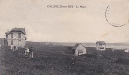 COLLEVILLE SUR MER ( Commune De 146 Habitants)  LA PLAGE  ACHAT IMMEDIAT - Autres Communes