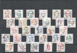 """BRD 1986/2003: LOT  """"Frauen Der Deutschen Geschichte"""" Gestempelt (siehe Foto/Scan)"""