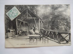 CPA (31) - LUCHON - LA FONTAINE D'AMOUR - ANIMEE - C1908 - R1650 - Luchon