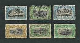 CONGO BELGA 1894-1915 - Pictures From Congo - 6 Issues - Congo Belga