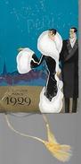1929 Regno - Calendario Da Barbiere - Tout Paris - L.T. Piver - Foto Manuel -attrici E Cantanti Francesi - Da Lucca - Formato Piccolo : 1921-40