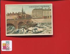CACAO PAYRAUD CHROMO Didactique La Glace Vichy ALLIER 1879 SEINE PICHEGRU ZUYDERZEE - Chocolat
