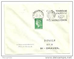 SEINE MARITIME - Dépt N° 76 = ROUEN St SEVER  1970 = FLAMME à DROITE =  SECAP 'TOMBOLAS AUTOMNE Caisse  EPARGNE ' - Marcophilie (Lettres)