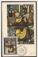 Francia/France: Maximum Card, Eglise Saint-Foy, Chiesa Di S. Foy, Church Of St. Foy, Saint-Pierre - Vetri & Vetrate