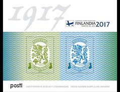 Finland - Postfris / MNH - Sheet Finlandia, Wapen Finland 2017