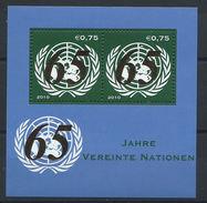 Nations-Unies (Vienne) Bloc N° 20** (MNH) 2010 - 65eme Anniversaire De L'ONU - ONU