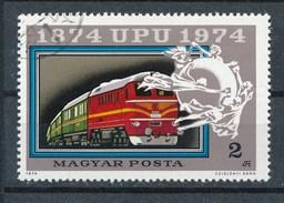 Ungarn 1974 Mi. 2949 A Gest. Weltpostverein UPU Eisenbahn Postzug - Brücken