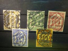 Deutsches Reich  Dienstmarke Mi Nr  10  Usw