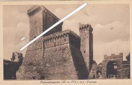 PIANCASTAGNAIO  -VEDUTA - Siena