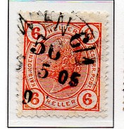 PIA - AUS - 1904 : Imperatore Francesco Giuseppe I°  - (Yv 85)