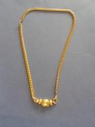 Collier Ancien Avec Pierres De Cristal - Longueur 21cm - Collares/Cadenas