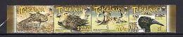 Tokelau 2007 WWF Birds Set Of 4 MNH