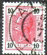 PIA - AUS - 1904 : Imperatore Francesco Giuseppe I°  - (Yv 86a)