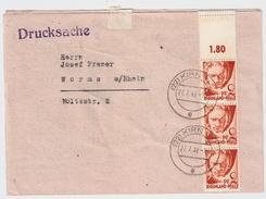 Rheinland Pfalz, Nr.16, MeF, Portogerecht, Leerfeld! , #8208 - Zona Francese