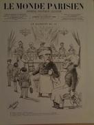 Le Monde Parisien .-n°29 Samedi 22 Juillet 1882 - Journaux - Quotidiens