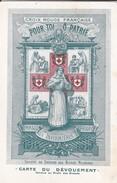 RARE---CROIX ROUGE FRANCAISE--hommage Aux Infirmières De France-carte Du Dévouement---voir 2 Scans - Croix-Rouge