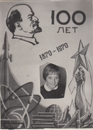 RUSSIA. PHOTO. LENIN 100 YEARS. SCHOOLGIRL-OCTOBRIST. *** - Autres