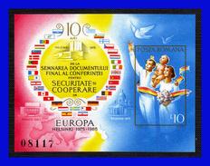 1985 - Rumania - Mi. B 215 S/d - MNH - RU-069