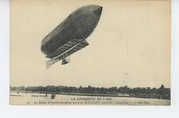 SPORTS - AEROSTATION - LA CONQUETE DE L'AIR - Le Ballon Dirigeable Aéroplane Mixte De MALÉCOT Après Le Lachez-Tout - Dirigeables