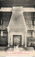10. Chaource. Chateau De La Cordeliere. Cheminée De La Salle à Manger - Chaource