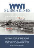 Bequia Grenadines Of St. Vincent -2015-War-WWI-world War One-Submarines - St.Vincent E Grenadine