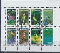 ABKHAZIA : Feuille D'oiseaux Divers