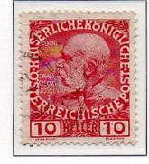 PIA - AUS - 1908-13 : 60° Anniversario Del Regno Dell' Imperatore Francesco Giuseppe I°  - (Yv 106)