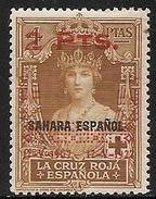 1927-ED. 398 XXV ANIV. CORONACION ALFONSO XIII- SELLOS COLONIAS HABILIDADO. SAHARA-NUEVO SIN FIJASELLOS- MNH-