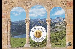 Spanje / Spain - Postfris / MNH - Sheet Werelderfgoed Oviedo 2017