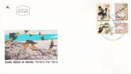 Israel FDC 1993 Song Birds In Israel (T18-4)