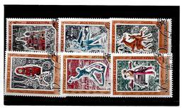 EDY 13 - RUSSIA URSS 1970 , Sei Valori  Usati