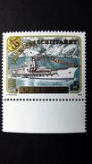 """Österreich 1958 **/mnh, 150 Jahre Traunseeschifffahrt, Raddampfer """"Gisela"""""""