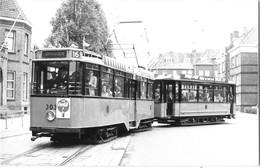 SPANGEN ROTTERDAM (Pays Bas) Photographie Format Cpa Tramway électrique Vers 1950 - Rotterdam