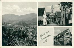 AK Endingen Amoltern, Mehrbildkarte, O 1951 Ortswerbestempel (20636) - Endingen