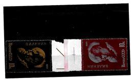EDY 17 - RUSSIA URSS 1966 , Due  Valori  *** . LENIN