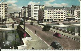 CAEN - Le Pont Churchill Et L'Avenue Du 6 Juin -- 1959 -- - Caen