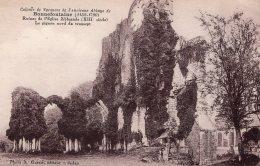 BLANCHEFOSSE COLONIE DE VACANCES DE L'ABBAYE DE BONNEFONTAINE RUINES DE L'EGLISE ABBATIALE LE PIGNON NORD  TBE - Autres Communes