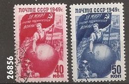 1949 - YT1432 - 1433 (O) - VC: 1.00 Eur.