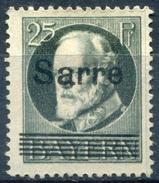 Y&T  N° 22 * - 1920-35 Saargebiet – Abstimmungsgebiet