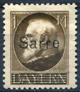 Y&T  N° 27 * - 1920-35 Saargebiet – Abstimmungsgebiet