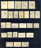 Hungary - Lot Of Various Perforation On Stamps, Various Quality / 2 Scans