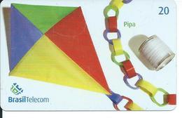 Cerf Volant Kite Jeu Games Jouet Télécarte Brésil Phonecard (S. 49) - Jeux
