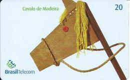 Jeu Games Jouet Cheval Horse Télécarte Brésil Phonecard (S. 51) - Jeux