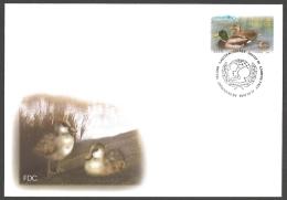 Estonia - Unicef 60th Anniversary. Bird - Mallard (Anas Platyrhynchos), FDC, 2006